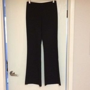Black Vintage Bell Pants